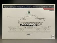 Takom 2125X 1/35 Jagdpanther G1 Early w/Zimmerit & Schwerer Plattformwagen