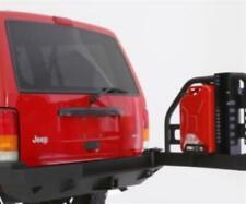 XRC Swingaway Rear Bumper (NO Tire Carrier) fits 84-01 Cherokee XJ Black
