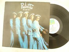 RUBETTES LP WE CAN DO IT state / etat 1 + insert N/M..... 33rpm / 70s