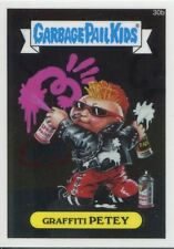 Garbage Pail Kids Chrome Series 1 Base Card 30b GRAFFITI PETEY
