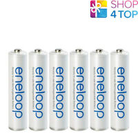 6 PANASONIC ENELOOP RECHARGEABLE AAA HR03 BATTERIES 1.2V 800mAh NEW