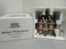 Dept 56 58106 Boarding & Lodging School Lighted Building Heritage W/Cord D10