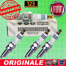 4 CANDELE ORIGINALI FIAT 55190788 ZKR7A-10 NGK PANDA PUNTO 500 PUNTO EVO GPL