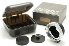 Metabones PL Lens to Sony E Mount Cine adapter