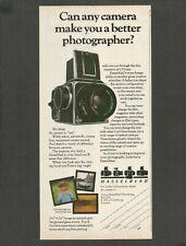 HASSELBLAD camera - 1982 Vintage Print Ad