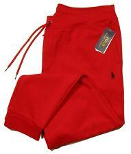Polo Ralph Lauren Men's RL 2000 Red Double Knit Jogger Pants