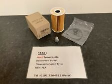 Genuine Audi/VW Oil Filter & Sump plug - A1,A3,A4,A5,A6,Q3,Q5,TT 03L115562