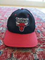 Vintage Chicago Bulls Hat Cap Logo 7 Snapback 80s 90s Jordan Era NWOT NBA