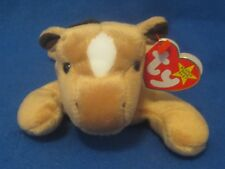 Ty Beanie Baby Derby the Horse Yarn Mane 4th Generation PVC Filled NEW