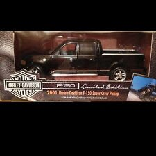 2001 Ford Harley Davidson Pickup Truck Crew Cab 1:18 Ertl American Muscle 32782