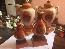 Four Beautiful Decorative Ceramic  Vase Urn