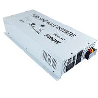3500W Pure Sine Wave Inverter 12V/24V DC to AC 120V/220V Backup Power Inverter