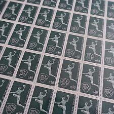 FEUILLE SHEET TIMBRE CHAMPIONNAT HANDBALL SPORT N°1629 x50 1970 NEUF ** LUXE MNH
