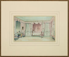 French Sitting Room Color Plate