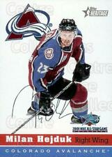 2001 Topps Heritage Colorado Avalanche AS #5 Milan Hejduk