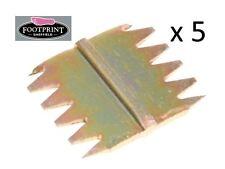 "5 x Footprint Tools Scutch Chisel Combs 38mm 1.5"" Wide Sheffield UK"