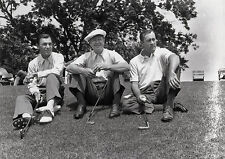 Art Print POSTER Ben Hogan, Byron Nelson and Herman Keiser