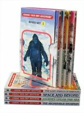 Choose Your Own Adventure 4 Book Set Volume 1 The Abominable Snowman Journ