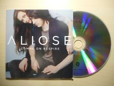 ALIOSE : COMME ON RESPIRE *PROMO* [ CD ALBUM ]