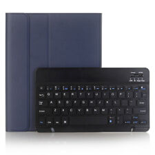 Leather Bluetooth Keyboard Case With Pencil Slot For New iPad 5 6 Air 2 Pro 9.7