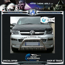 VW T5 TRANSPORTER CARAVELLE, MULTIVAN KOMBI SHUTTLE BULL BAR 2003-2009 OFFER NEW
