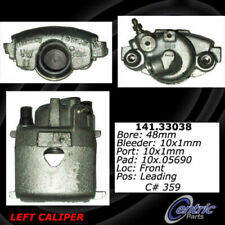 Centric 141.33038 Disc Brake Caliper Semi-Loaded Caliper Front Left Reman