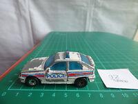VINTAGE MATCHBOX 1985 VAUXHALL ASTRA GTE OPEL KADETT GSi 1:57 POLICE CAR TOY