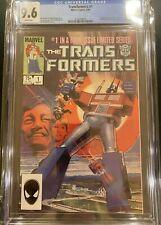 Transformers No. 1 (Marvel) CGC 9.6 NM+