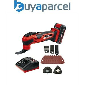 Einhell Varrito Cordless Multi Tool MultiTool + 2Ah Battery 4465161 TE MG 18 LI