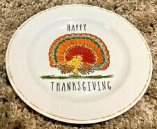 "New ListingPottery Barn Kids Peanuts Thanksgiving Melamine Platter ~ Snoopy ~ 11"""