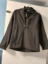 Vertical Black shell exterior Jacket Yth Great Boys Size Large 14/16. Preowned