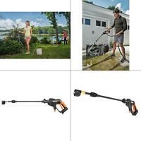 WORX Cordless Hydroshot Portable Power Cleaner, 20V Liion 320psi Tool only