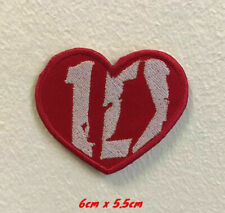 One Direction 1D art badge Embroidered Iron on Sew on Patch