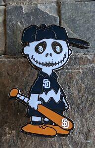 San Diego Padres Charlie Brown dia de los muertos Pin