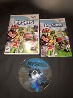 NINTENDO WII GAME: MY SIMS - COMPLETE WITH MANUAL - FREE P&P