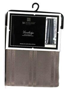 "1 Ct Modavari Cambridge 52"" X 84"" Room Darkening Gray Flannel Rod Pocket Panel"