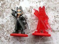 Final Fantasy Coca Cola Promo Figure Sephiroth Color & Crystal set
