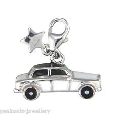 Tingle Wedding Car Sterling Silver clip on Charm with Gift Box and Bag SCH112