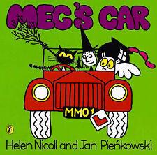 Preschool Story Book - Meg and Mog Story Book - MEG'S CAR - NEW
