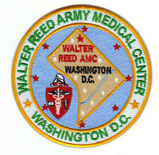 US ARMY POST PATCH, WALTER REED REGIONAL MEDICAL CENTER, WASHINGTON DC     Y