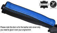 BLACK & Blue in pelle e del freno di emergenza MANIGLIA cover si adatta Camaro Firebird 93-02