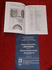 Ersatzteile Katalog Spare Parts List Simson Schwalbe KR 51/1 Star SR 4-2/1 NEU