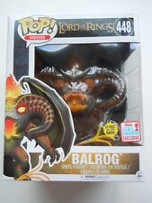 "Funko Pop LOTR Balrog 6"" Glow In The Dark #448 NYCC 2017 Exclusive PRE ORDER NEW"