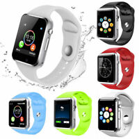 A1 GSM Smart Watch Bluetooth Waterproof For Android Camera Fitness Sleep Monitor