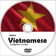 Learn to speak VIETNAMESE COMPLETE LANGUAGE COURSE CD MP3 AUDIO PDF TEXTBOOKS