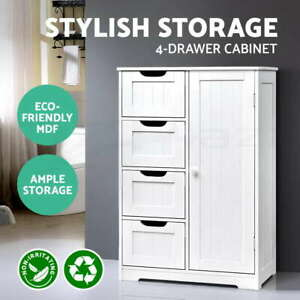 Artiss Bathroom Storage Cabinet Chest of Drawers Laundry Toilet Cupboard Tallboy