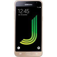 Tout Nouveau SAMSUNG Galaxy J3 8GB 2016 doré SMARTPHONE débloqué DOUBLE SIM