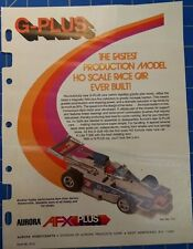 Aurora G-Plus Sales Page Mid America Raceway