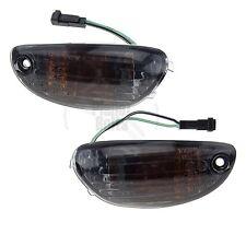 Smoke Front Mirror Turn Signal Blinker Marker Suzuki GSXR 600 750 1000 14 13 12