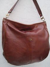 -AUTHENTIQUE grand sac à main   ASSIMA   cuir TBEG vintage bag